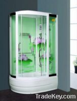 Sell Chinese design corner steam shower cabins ZY-1010L