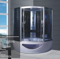 Sell two person steam shower room with whirlpool bath tubZY-113