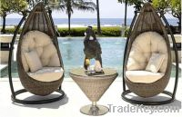 Sell rattan outdoor furniture hang chair PR-001