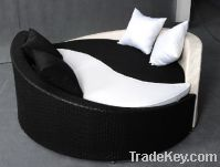 Sell rattan furniture daybed sun lounger PF-DL012