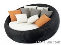 Sell Modern Leisure Rattan Lounge patio furniture futon PF-YY9045