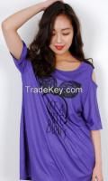 Cute Bunny Sleeve gap Long T-shirt from korean style