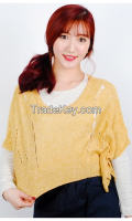New Spring layered Woman half knit From Korean sytle