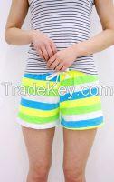 Women's Summer Vacation Short Pants Band Type
