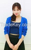 Women's short cardigan spring cardigan colorful from wholesale cardigan