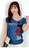 Woman Pocket Half Knit From Korean sytle