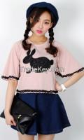Lovely Bunny T-Shirt From Korean Style