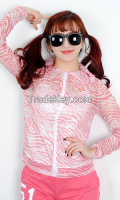 Hot Summer Cool Beach woman hood from korean style