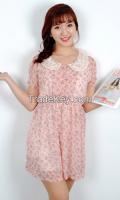 Pretty Woman Flower Pattern Dress from korean style