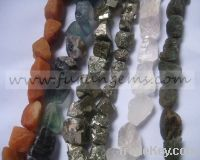 Sell natural rough unpolished nugget tumble stone beads