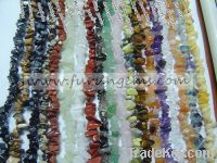 Sell all semiprecious stones chips ca 5-7mm 90cm long