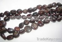 Sell chinese garnet tumble stone beads