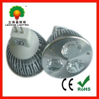 12v 6W LED spotlight 3years warrany with CE RoHS approval
