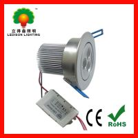 Sell 3x3W LED downlight with CE RoHS 3years warranty