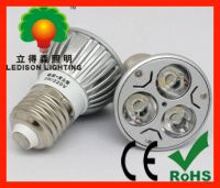 Sell E27 3W (equivalent 30W) LED spot lamp