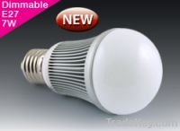 Dimmable LED bulbs 7W