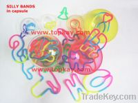 Silly bands- mixed, crazy bands, silicone bands
