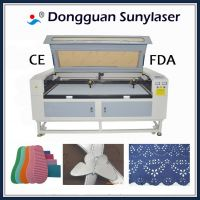 Fast Speed CO2 Leather Laser Cutting Machine with Multi Heads