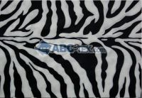 hot sell print velour fabric