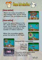 children games crocodile action, arcade game