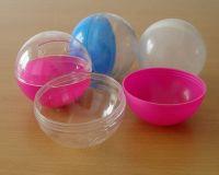 Sell vending machine plastic capsules/plastic egg toy capsules