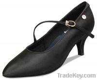 Ladies satin dance shoes-LD5088-15