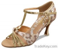 women open toe dance shoe LD2065-01