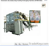 Sell Automatic Secondary Bag Feeding Packaging Machine (VFSW1000)