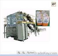 Sell bag in bag secondary packing machine