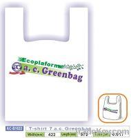 Sell T-shirt 7 a.c. Greenbag