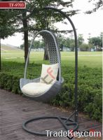 Sell rattan swing chair TF-9703