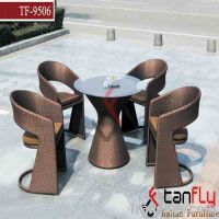Sell wicker cafe table set