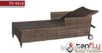 Sell TF-9418 aluminum lounge chairs rattan lounger