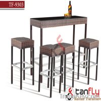 Sell TF-9303 wicker bar chair and table