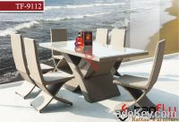 Sell TF-9112 Outdoor Wicker Rattan Dinning set 6 chairs and table