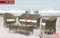 Sell TF-9040 Living room sofa Outdoor Wicker Rattan Table & Chairs