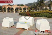 Sell TF-9042 PE rattan garden sofa set
