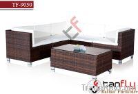 Sell TF-9050 wicker rattan sofa furniture modular sofa