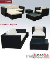 Sell TF-9001 garden rattan sofa