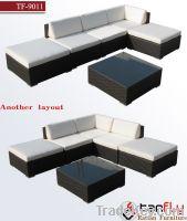 Sell TF-9011 6pcs luxury wicker rattan sofa Set