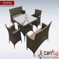 Sell TF-9131 wicker dining sofa set