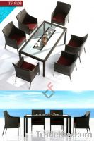 Sell TF-9103Patio rattan dining set/wicker dining chair