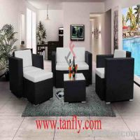 Sell TF-9057 living room rattan corner sofa furniture