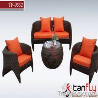 Sell TF-9532 wicker dining sofa set