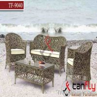 Sell TF-9040 rattan living room dining sofa set