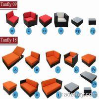 Sell wicker rattan modular sofa