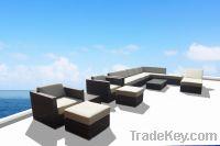 Rattan sofa, outdoor furniture, garden sofa TF-9017