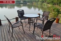 aluminum table and chair set TF-9190