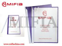 Plastic File & Document Folders with Clips, Rotating Clips