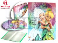 PP DISPLAY BOOKS WITH GLITTER
